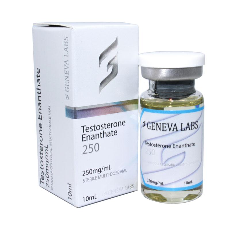 Testosterone Enanthate 250MG/ML 10ML [Geneva]+ – Buy Steroids Within Australia